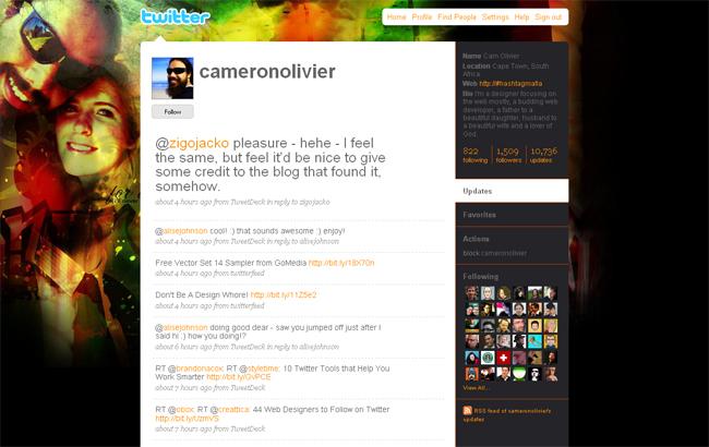 красивые твитер каналы