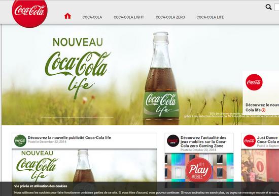 coca cola и cms wordpress