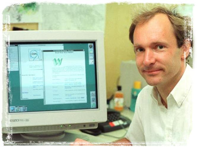 Тимоти Джону Бернарс-Ли создатель всемирной паутины