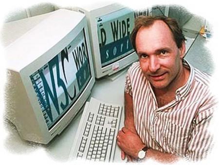 Тимоти Джону Бернарс-Ли он создал интернет