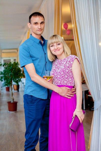 Олег с женой Ольгой