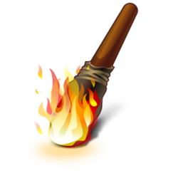 работа горит